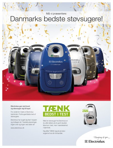 Electrolux-annonce